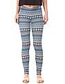 Aeropostale Printed Cotton Spandex Leggings