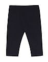 Donuts Blue Boys Solid Corduroy Trousers