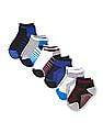 The Children's Place Toddler Boy Assorted Striped Cushioned Ankle Socks 6-Pack