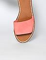 GAP Women Red Flat Slide Sandals