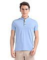 Arrow Sports Regular Fit Patterned Weave Polo Shirt