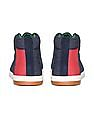 Flying Machine Colour Blocked Mid Top Sneakers