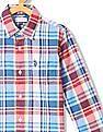 U.S. Polo Assn. Kids Boys Cotton Check Shirt