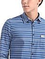 U.S. Polo Assn. Denim Co. Slim Fit Horizontal Stripe Shirt
