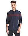 Arrow Sports Slim Fit Striped Shirt