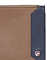 U.S. Polo Assn. Contrast Trim Leather Wallet