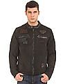Ed Hardy Appliqued Front Cotton Jacket