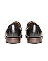 Johnston & Murphy Cap Toe Brogued Leather Derby Shoes