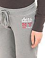 Aeropostale Heathered Fleece Lined Lounge Pants