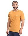 Cherokee Yellow Patch Pocket Tipped T-Shirt