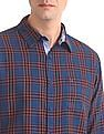 Roots by Ruggers Slim Fit Cutaway Collar Shirt
