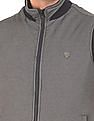 Arrow Sports High Neck Reversible Gilet Jacket