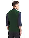 Arrow Sports V-Neck Wool Blend Sweater