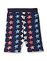 U.S. Polo Assn. Kids Boys Star Print Knit Shorts