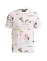 Nautica Printed Short Sleeve Polo Shirt