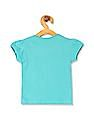 Donuts Girls Short Puff Sleeve Graphic T-Shirt
