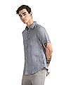 U.S. Polo Assn. Short Sleeve Linen Shirt