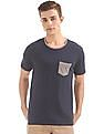 Cherokee Patch Pocket Speckled T-Shirt