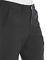 Izod Mid Rise Solid Trousers