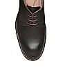 Johnston & Murphy Round Toe Leather Derby Shoes
