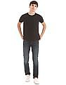 Flying Machine Slim Tapered Fit Dark Wash Jeans