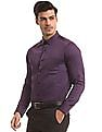 USPA Tailored French Placket Tailored Fit Shirt