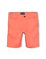 The Children's Place Boys Solid Woven Chino Shorts