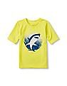 The Children's Place Boys Short Sleeve Summer Graphic Rashguard
