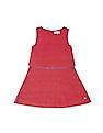 U.S. Polo Assn. Kids Girls Lace Fit And Flare Dress