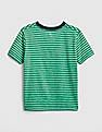 GAP Baby Stripe Graphic Short Sleeve T-Shirt