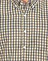 Excalibur Button Down Collar Check Shirt