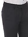 Arvind Supercrease Slim Fit Trousers
