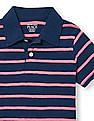 The Children's Place Toddler Boy Short Sleeve Striped Jersey Polo