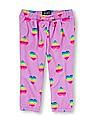 The Children's Place Toddler Girl Purple Active Printed Sweats