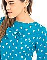 SUGR Heart Print Top