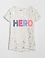 GAP Girls Gapkids & Marvel© Roll-Sleeve T-Shirt
