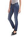 U.S. Polo Assn. Women Skinny Fit Stone Washed Jeans
