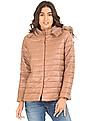 U.S. Polo Assn. Women Quilted Hooded Jacket