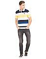 U.S. Polo Assn. Striped Slim Fit Polo Shirt