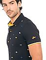 Izod Fishbone Embroidered Polo Shirt